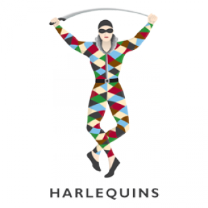 Places harlequins